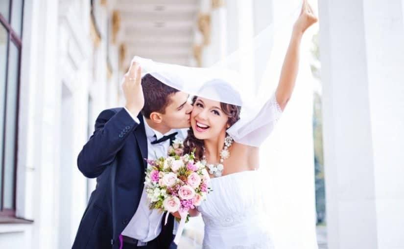 Smukt brudepar